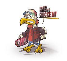 Chicken! Photographic Print