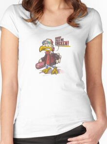 Chicken! Women's Fitted Scoop T-Shirt