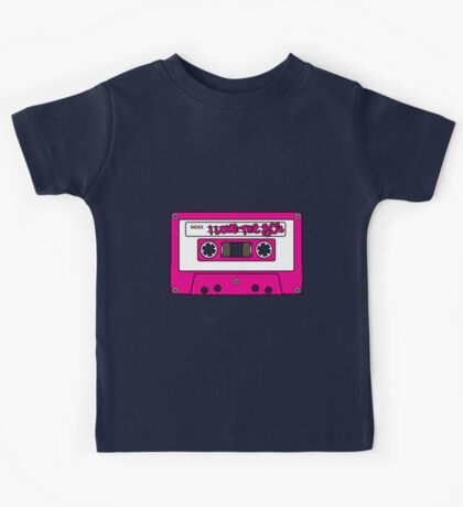 I love the 80's - pink tape Kids Tee