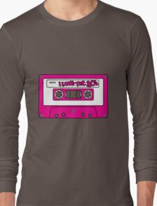 I love the 80's - pink tape Long Sleeve T-Shirt