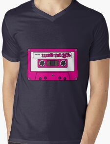I love the 80's - pink tape Mens V-Neck T-Shirt