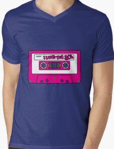 I love the 80's - pink tape Mens V-Neck T-Shirt