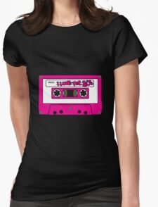 I love the 80's - pink tape Womens Fitted T-Shirt