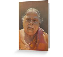 mother biswaal Greeting Card