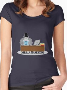 GORILLA MARKETING Women's Fitted Scoop T-Shirt