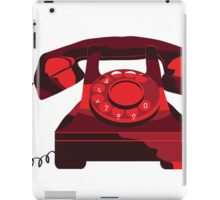 Red Phone iPad Case/Skin