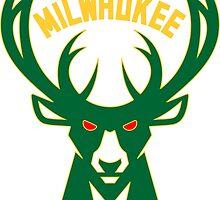 Milwaukee bucks basketball by Kazasport