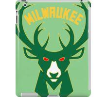 Milwaukee bucks basketball iPad Case/Skin