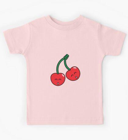 Cherry Twins Kids Tee