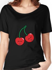 Cherry Twins Women's Relaxed Fit T-Shirt