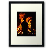 Born of Flames Framed Print