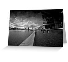 southbank noir Greeting Card