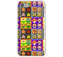 Mario Power-Up Evolution iPhone Case/Skin
