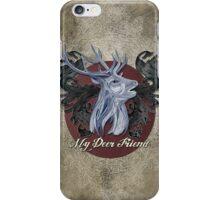 My Deer Friend  iPhone Case/Skin
