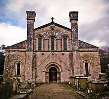 Margam Abbey Nave by digihill