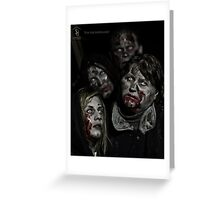Zombies don't say 'Brains' Greeting Card