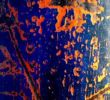 Cobalt and rust by Christophe Claudel