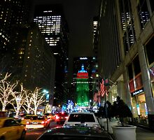 New York City - Park Ave. 001 by Lance Vaughn