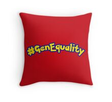 #GenEquality - Love Every Generation Throw Pillow