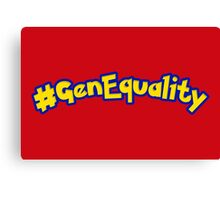 #GenEquality - Love Every Generation Canvas Print