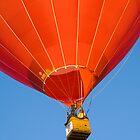 Balloon over by Tony Theobald