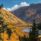 Golden Maroon Lake by Candy Gemmill