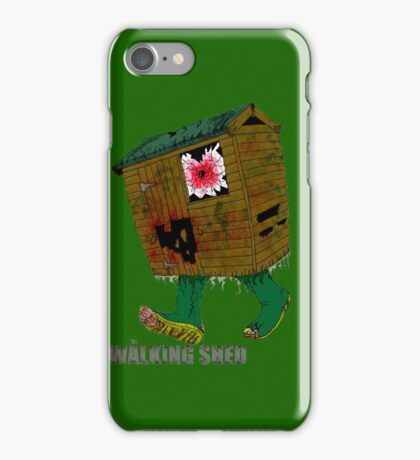 The Walking Shed! iPhone Case/Skin