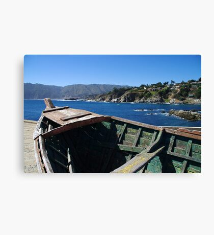 Bay of Quintay Canvas Print