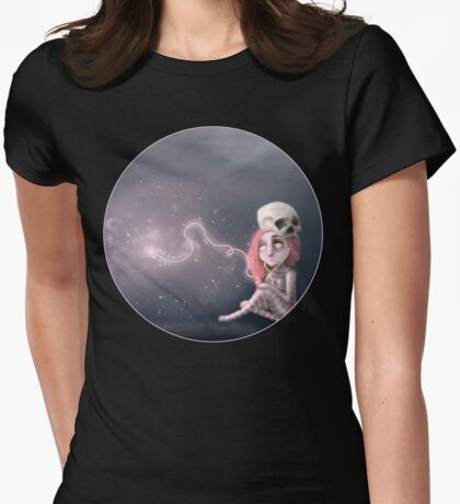 Still waiting for something that is not here yet Womens Fitted T-Shirt