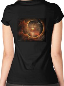 Born in the Vortex - The New Machine Women's Fitted Scoop T-Shirt