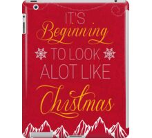 It's beginning to look a lot like christmas iPad Case/Skin