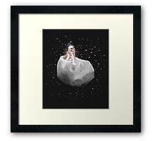 Lost in a Space / Phobosah Framed Print