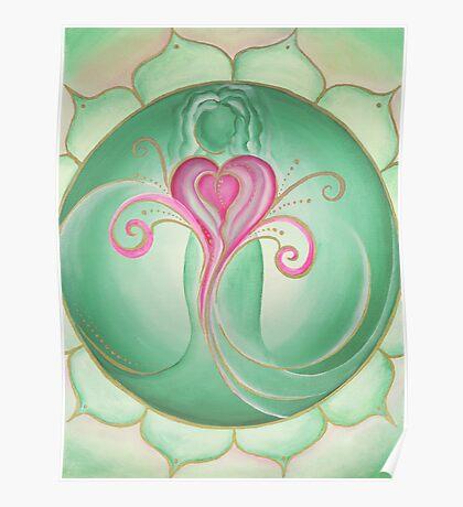 4th Chakra - Heart Chakra Poster