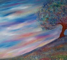 The tree on the hill by Robin Monroe