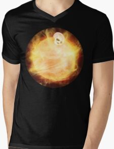 Lost in a Space / Sunlion Mens V-Neck T-Shirt