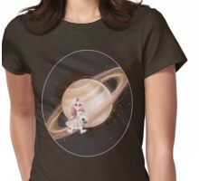 Lost in a Space / Saturnesse Womens Fitted T-Shirt