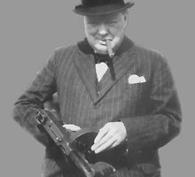 Sir Winston Churchill  by warishellstore
