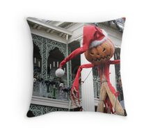 Haunted Mansion Holiday Throw Pillow