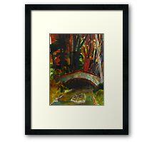 small bridge near Saddell Bay Framed Print
