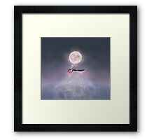Moonsende / Back to Home Framed Print