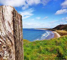 Llangenith Beach. by ThePigmi