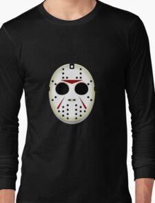 Jason Mask Halloween Long Sleeve T-Shirt