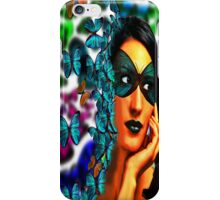 Scattering Butterflies iPhone Case/Skin