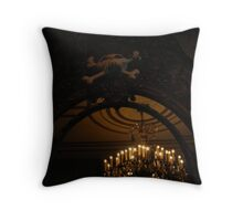 Haunted Mansion Holiday Mirror Throw Pillow