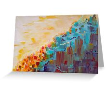 City on a Hill Greeting Card