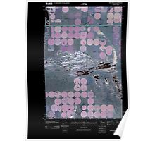 USGS Topo Map Washington State WA Winchester SE 20110425 TM Inverted Poster