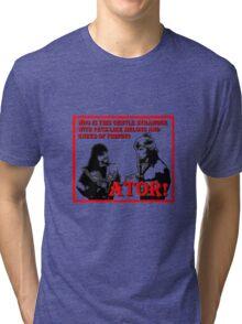 Ator The Invincible!   Tri-blend T-Shirt
