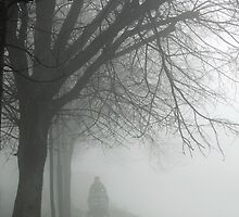 Fog at the canal by Esther  Moliné