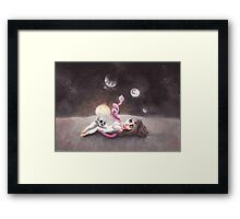 Lost far away from home Framed Print