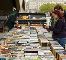Bookstall, London's South Bank by Andrew Jones